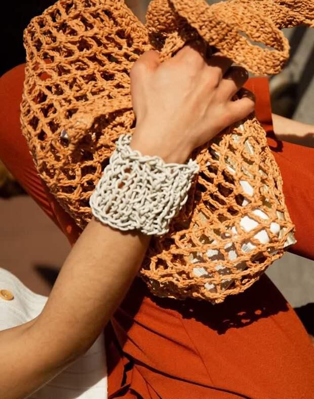 H&M+net+bag