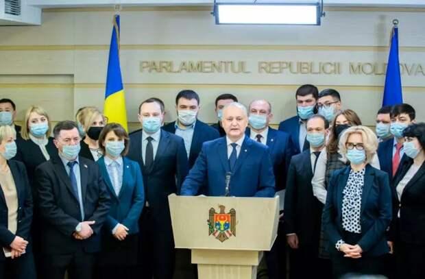 ПСРМ потребовала отставки Санду и проведения досрочных выборов президента