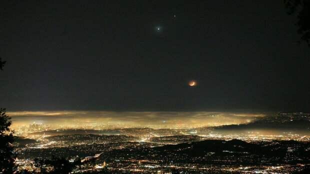 Преследующий полицейскую дрон оказался планетой Юпитер