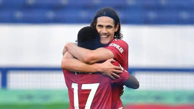 Кавани решил остаться в «Манчестер Юнайтед» еще на сезон