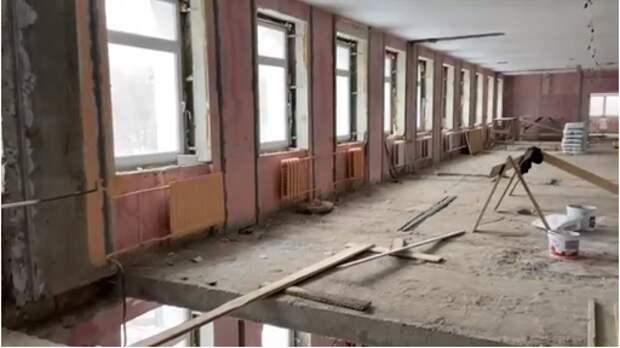 В поликлинике на Хачатуряна демонтировали старую инфраструктуру