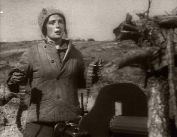 Кадр из фильма «Чапаев»
