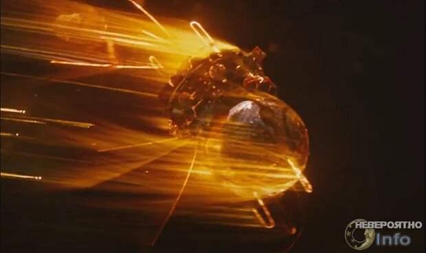 Отчего нагревается корабль, входящий в атмосферу?