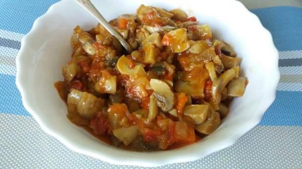 Соте из овощей с грибами. Вкусное рагу для полноценного ужина 2