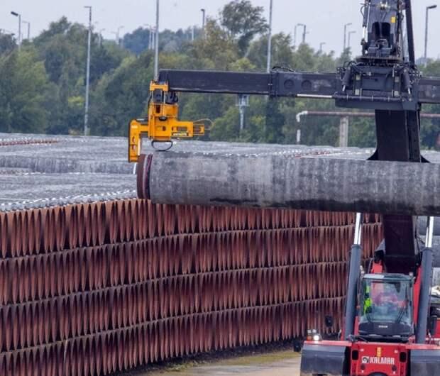 """Датская компания вышла из проекта """"Северный поток - 2"""" после предупреждения США"""