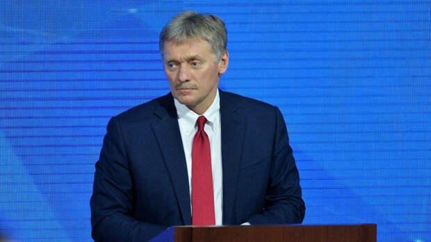 Дмитрий Песков назвал незаконными прошедшие акции в поддержку Навального