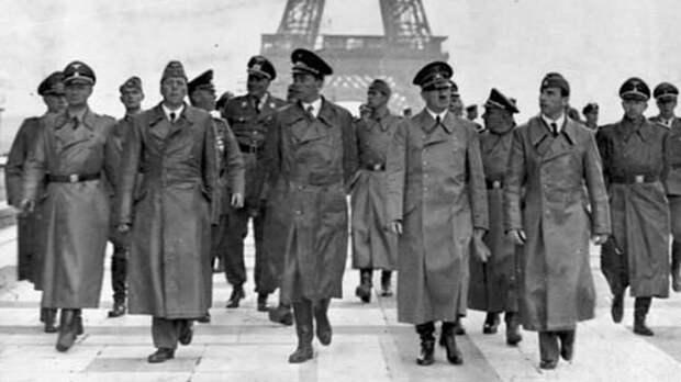 Гитлер в Париже