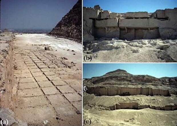 Из чего построены египетские пирамиды?