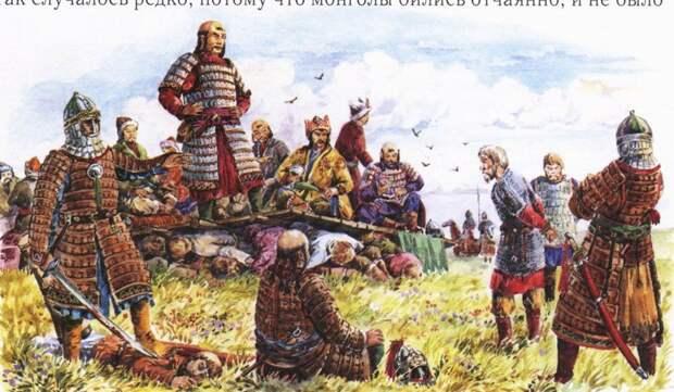 После битвы на Калке. история, монголы