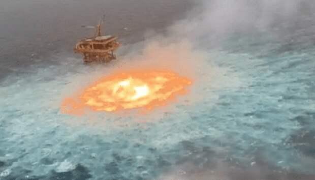 Мексиканский залив уже начал гореть