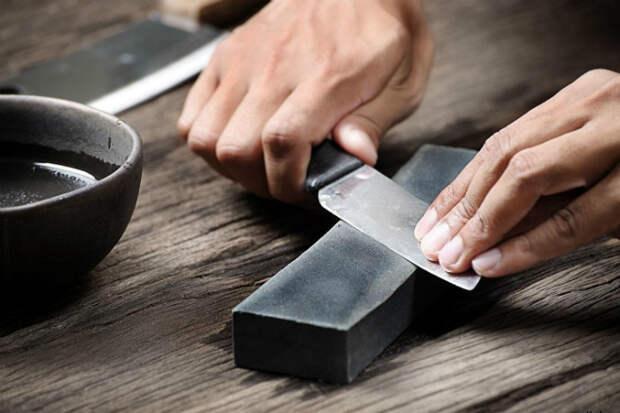 Как заточить нож за 3 минуты