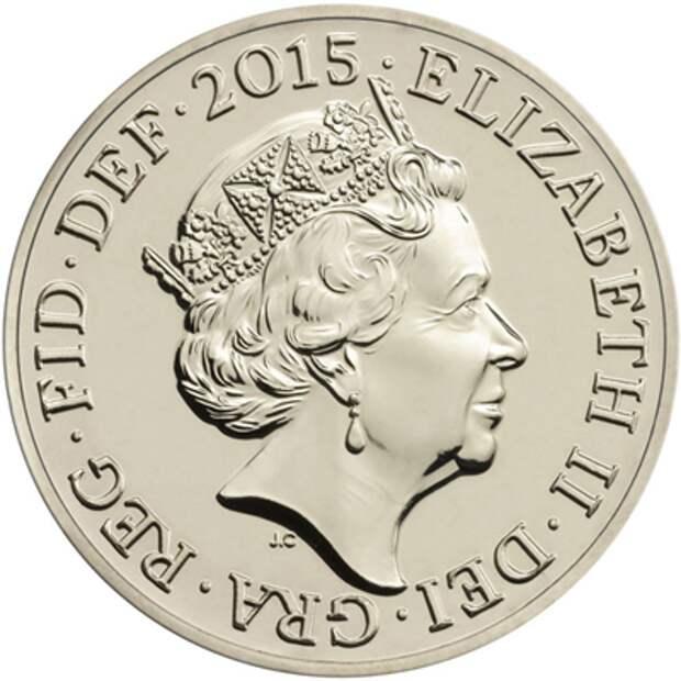 Елизавета II обновила профиль на монетах Елизавета II, велибритания, монеты