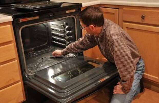 Как вычистить духовку