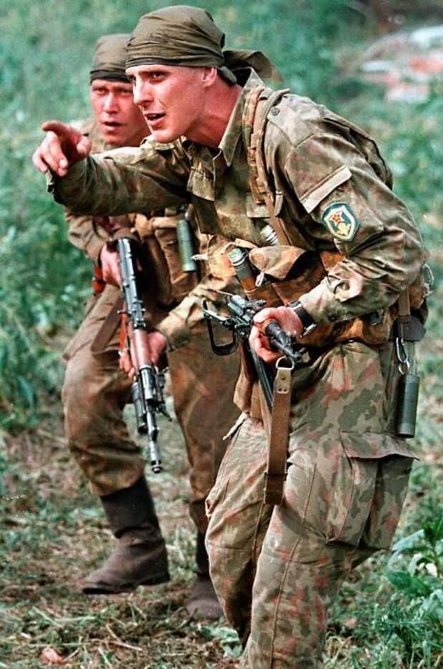 Первая чеченская кампания, 1994 - 1996 (52 фото)