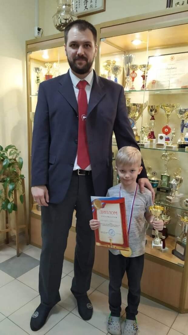 Юный каратист из Лосинки стал лучшим на фестивале боевых искусств