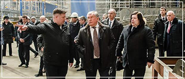 """На одном из заводов проекта """"Звезда"""""""