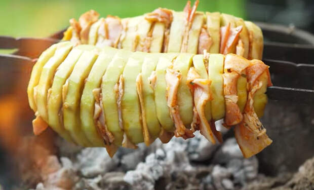 Баклажан на углях: получается вкуснее мяса