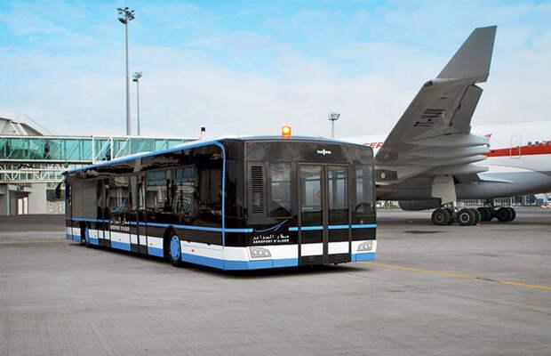 Перронный автобус Van Hool AP2375
