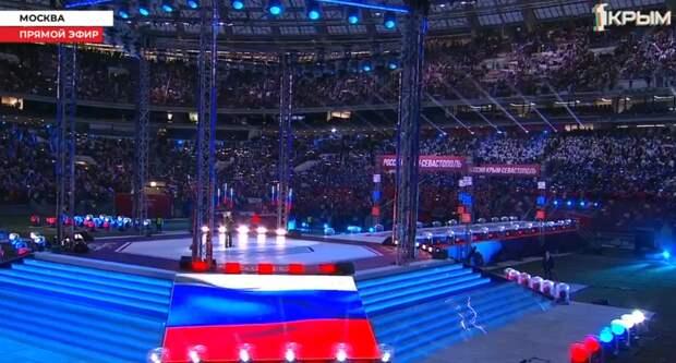 Путин поздравил крымчан с седьмой годовщиной воссоединения с Россией