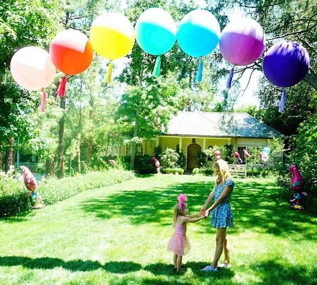 Ники Хилтон с дочкой Тедди
