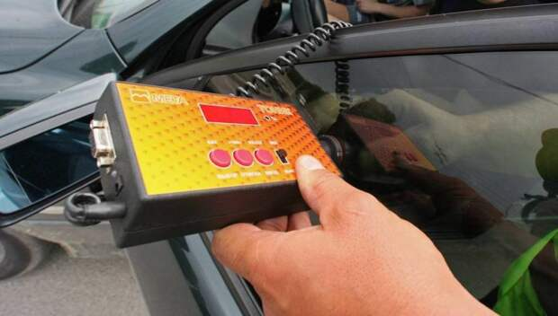 В Москве начался рейд ГИБДД по выявлению незаконной тонировки  машин