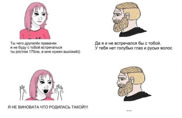 мемы про феминисток