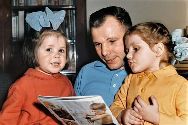 Как сложилась семья и чем сейчас занимаются дочери и внуки Юрия Гагарина