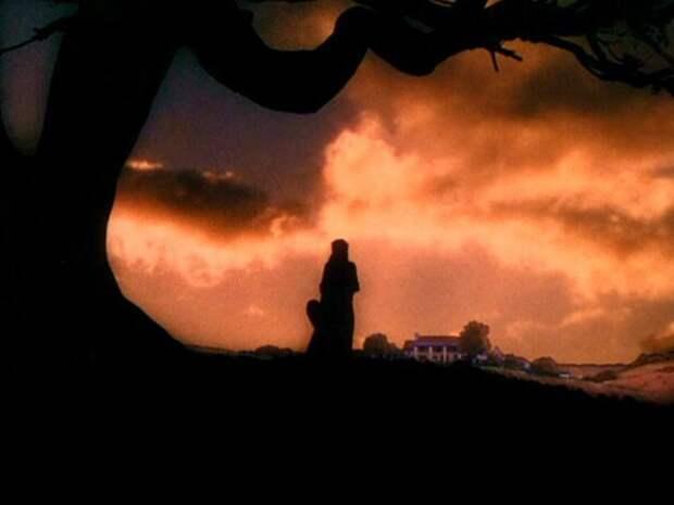 """кадр из фильма """"Унесенные ветром"""", который оставили"""