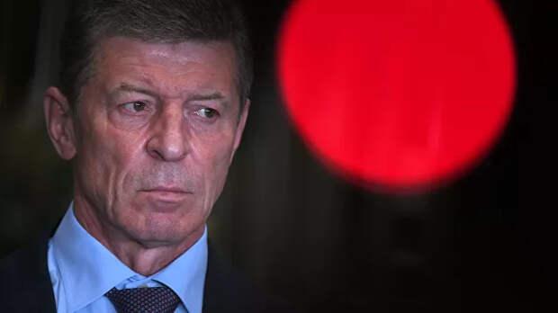 Россия не будет безучастна при вторжении Украины в Донбасс, заявил Козак