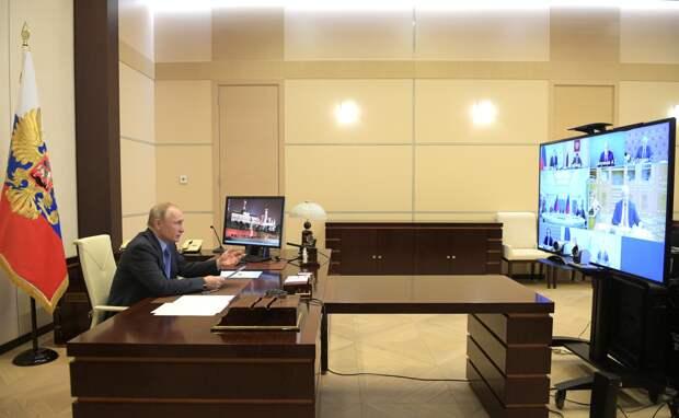 Пять вопросов и одно принципиальное решение: Что волнует Путина в пандемии COVID-19