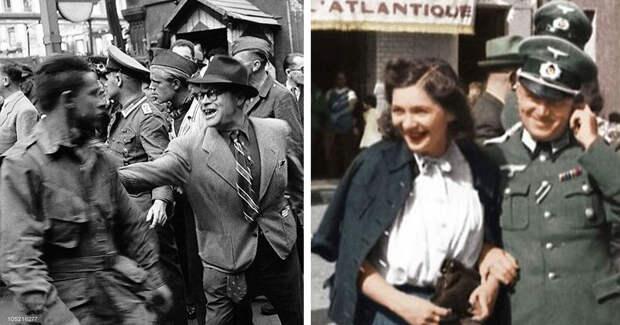 Почему французы в 1944 году били в центре Парижа американцев