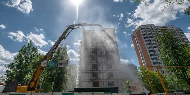 Пятиэтажку на Коровинке расселят до 2024 года