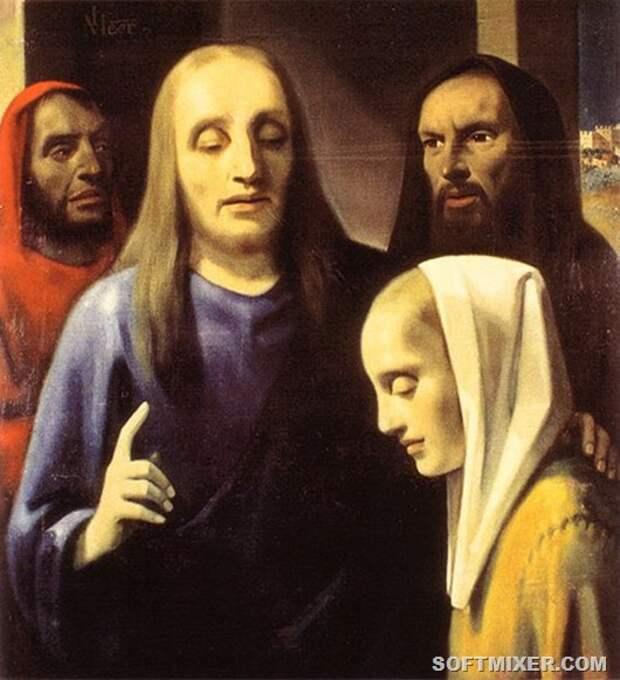 Hristos 20greshnica(1) Ruka Vermeera
