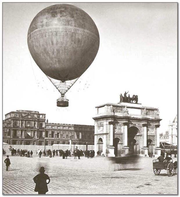 Связь во время Парижской блокады 1871 года