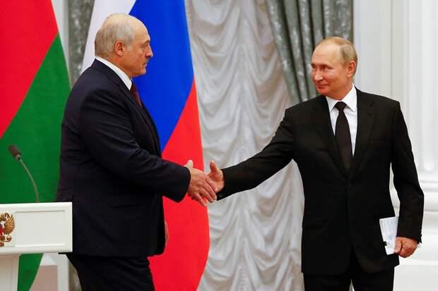 Свершилось: Путин и Лукашенко договорились о создании Союзного государства