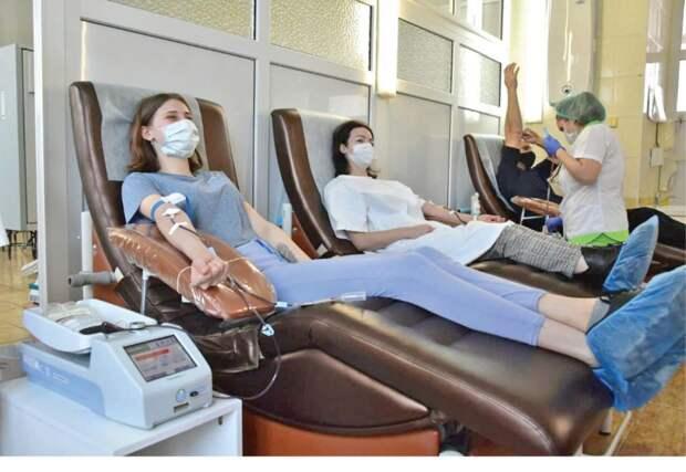 Крымчан приглашают стать донорами крови