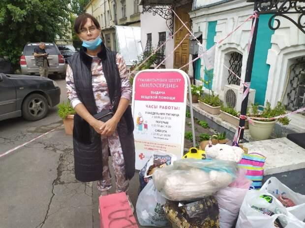 Семья волонтеров из ЮВАО снова отправила помощь в «Дом для мамы»