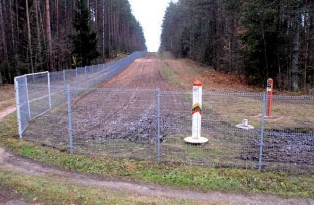 Литву настигли проблемы при укреплении границы с Белоруссией