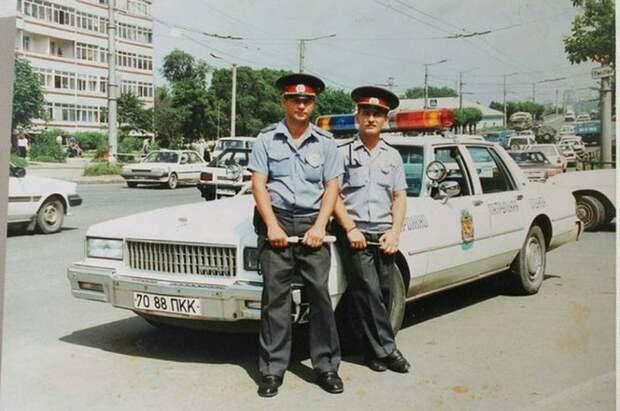 Служебный милицейский Chevrolet Caprice. Владивосток, 1990 год СССР, автомобили, советская техника, советские машины
