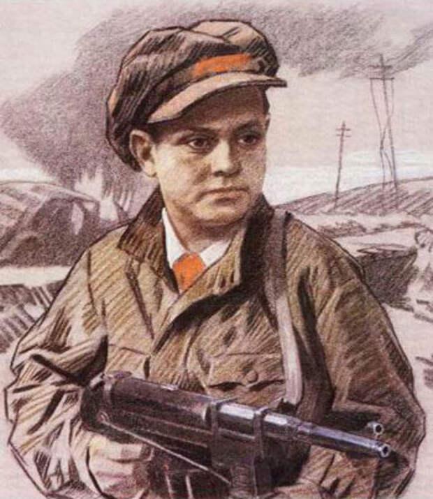 Патриотические истории. Дети войны. Лёня Голиков