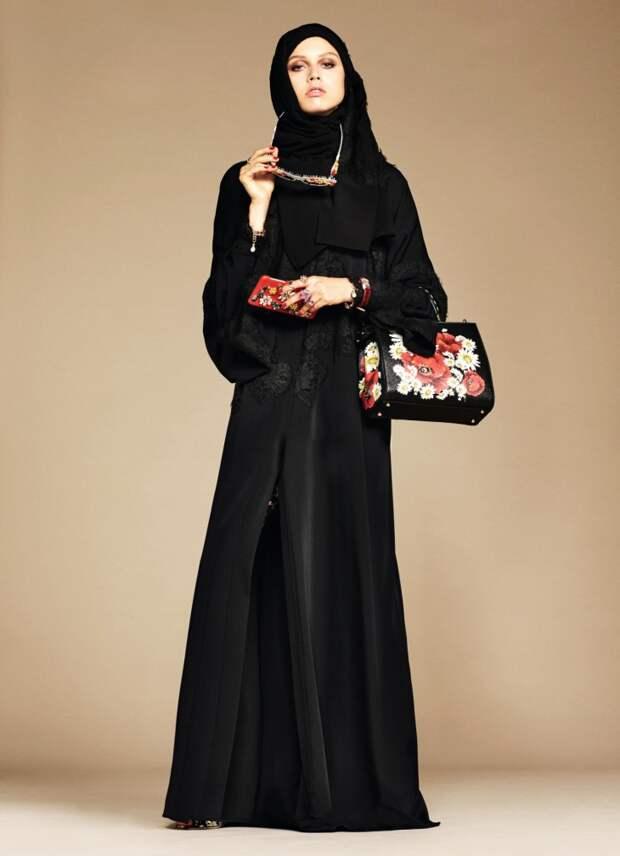 Бренд Dolce&Gabbana выпустил коллекцию абай и хиджабов и они по настоящему красивы