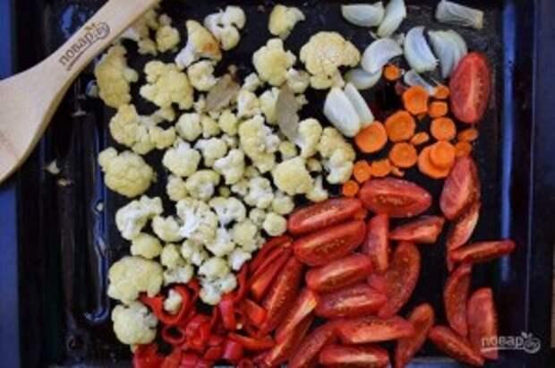 Томатный суп с чесночными гренками - фото шаг 2