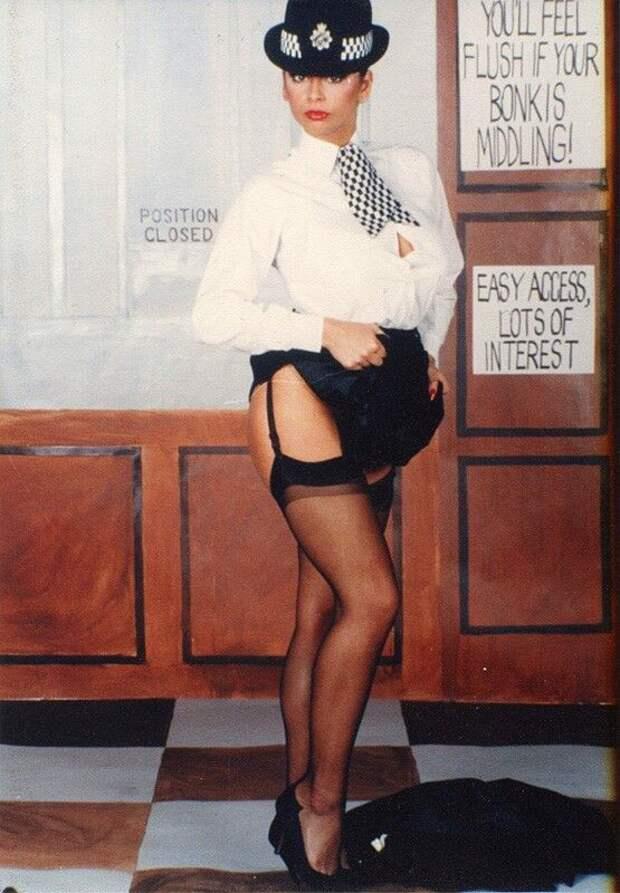 Красотка 70-ых Мария Уитэйкер