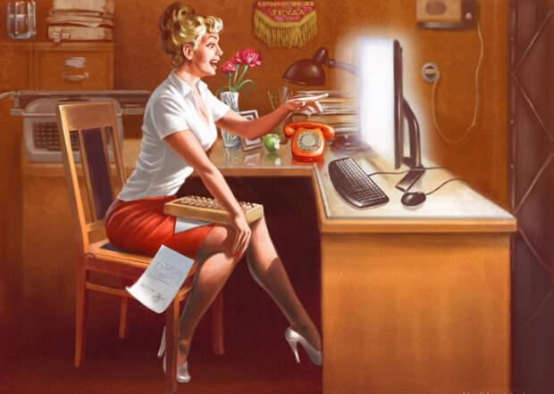 Интернет в СССР-2.0, разорители могил и сознательный советский народ