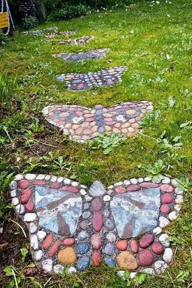 Садовые бабочки