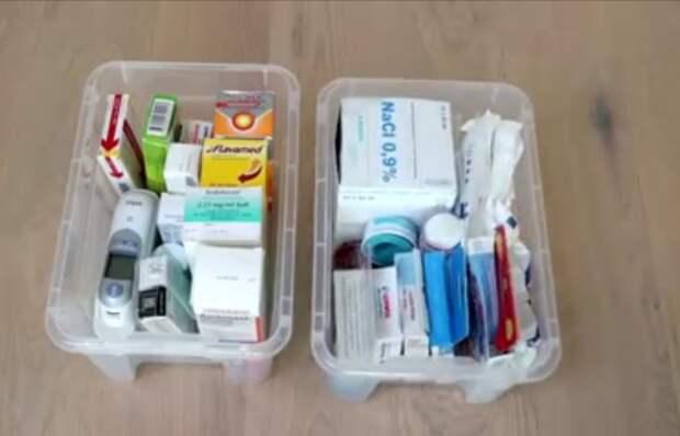 Идеи для домашней аптечки. Советы и лайфхаки по организации лекарств.