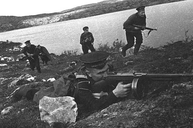 Морская пехота в бою Великая Отечественная война, СССР, история
