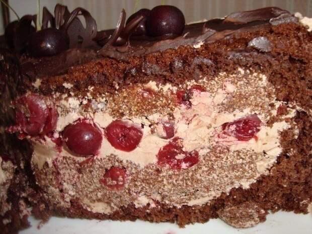 Шесть самых вкусных вишнёвых тортов