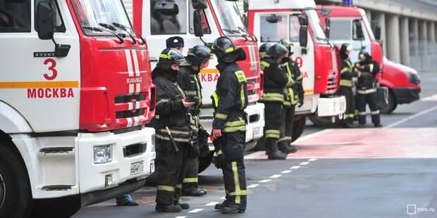 В квартире дома на Осташковской ликвидировали пожар