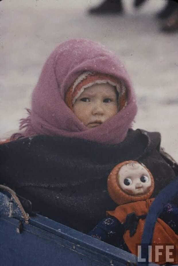 Фото маленьких москвичей начала 1960-х.